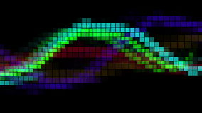 Vídeo abstracto del espectro almacen de metraje de vídeo