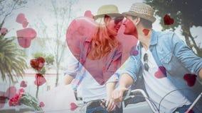 Vídeo compuesto de Digitaces de pares románticos libre illustration