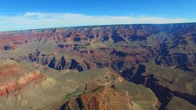 Vídeo da antena de Grand Canyon video estoque