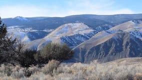 Vídeo da opinião da lavagem da região selvagem de Idaho vídeos de arquivo