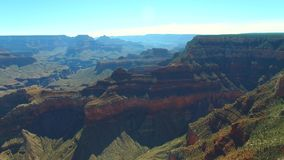 Vídeo de la antena de Grand Canyon almacen de metraje de vídeo