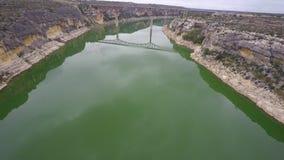 Vídeo de la antena del río Pecos Tejas