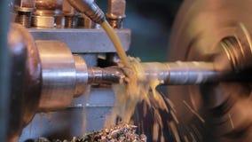 Vídeo de la fábrica Flujo del líquido refrigerador Una fábrica rusa moderna
