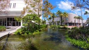 Vídeo de Miami Beach Lincoln Road Mall Time Lapse vídeos de arquivo
