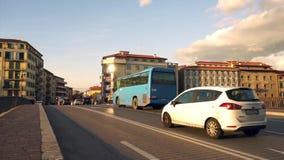 Vídeo del coche del tráfico del timelapse del tráfico almacen de metraje de vídeo