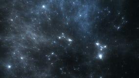 Vídeo del lapso de tiempo de la nebulosa dinámica del espacio almacen de video