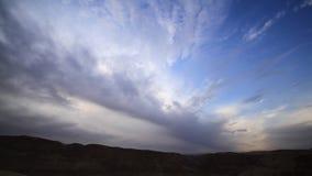 Vídeo del lapso de tiempo el mar muerto 2 almacen de video