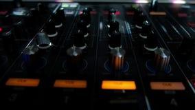 Vídeo del mezclador HD de DJ metrajes