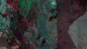 Vídeo digital de viagem de deslocamento do fundo do cosmos da paisagem abstrata vídeos de arquivo