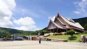 Vídeo do grampo do lapso de tempo de Wat Huay Lad em Phurua, Loei, Tailândia filme