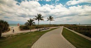 Vídeo do lapso de tempo de Miami Beach filme