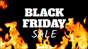 Vídeo gerado Digital da venda preta de sexta-feira video estoque