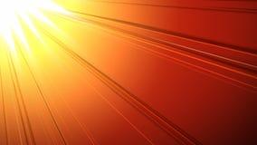 Vídeo gerado Digital do raio de sol vídeos de arquivo