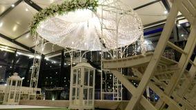 Vídeo hermoso 4k del Hupa judío, casandose putdoor metrajes