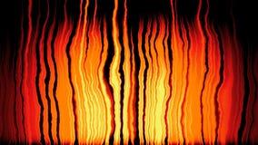vídeo inconsútil del lazo del fondo ardiente animado de las llamas almacen de metraje de vídeo