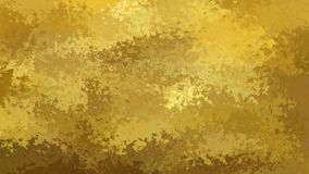 vídeo inconsútil manchado animado del lazo del fondo - colores del oro, del beige, amarillos y marrones almacen de video