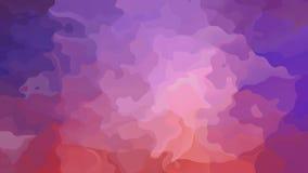 Vídeo inconsútil manchado twinking animado del lazo del fondo - efecto de la mancha de la acuarela - rosa, color de color de malv metrajes