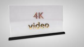 vídeo 4K Imagens de Stock