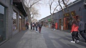 vídeo 4k de Hutong en Pekín