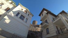 Vídeo liso com arquitetura bonita video estoque