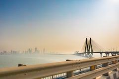 """Vínculo Bombay del mar de Bandra†""""Worli Fotos de archivo libres de regalías"""