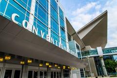 Vínculo Convention Center Omaha Nebraska del siglo Imagenes de archivo