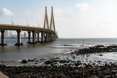 Vínculo del mar de Bandra - de Worli fotos de archivo libres de regalías