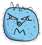 Vírus da gripe dos suínos Imagens de Stock Royalty Free