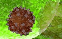 Vírus do HIV ilustração do vetor