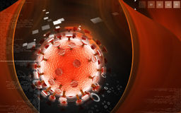 Vírus do VIH Fotografia de Stock