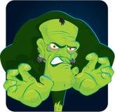 Víspera de Todos los Santos Frankenstein Imagen de archivo libre de regalías