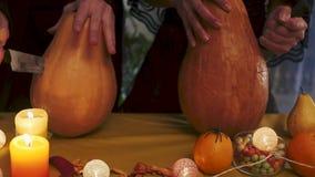 Víspera de Todos los Santos Ritual místico y terrible el día de fiesta de Halloween metrajes