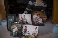 VÍTIMA DE ACIDENTE DO AR MH17 foto de stock