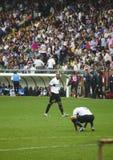 Vóór de gelijke Sampdoria - Inter Stock Fotografie
