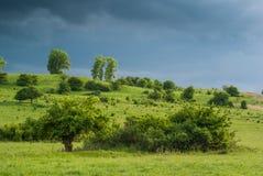 Vóór de regen Stock Foto