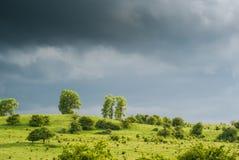 Vóór de regen Royalty-vrije Stock Afbeeldingen