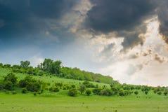 Vóór de regen Stock Afbeeldingen