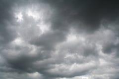 Vóór het onweer. Stock Afbeeldingen