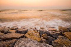 Vóór sunrise3 Royalty-vrije Stock Afbeelding