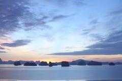Vóór zonsopgang stock afbeeldingen
