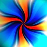 Vórtice colorido del giro ilustración del vector