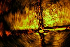 Vórtice de la llama y de la furia imagen de archivo