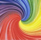 Vórtice del arco iris Imagenes de archivo