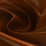Vórtice del chocolate Imagenes de archivo