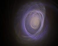 Vórtice del espacio de la llama 6 del fractal Imágenes de archivo libres de regalías
