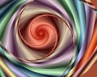 Vórtice en colores pastel stock de ilustración