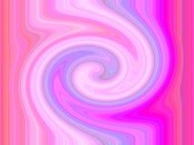 Vórtice espiral rosado Imagen de archivo libre de regalías