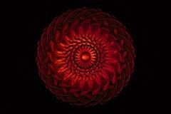 Vórtice rojo foto de archivo