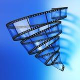 Vórtice video imágenes de archivo libres de regalías