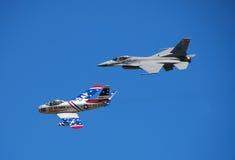 Vôo da herança de Airshow Imagem de Stock Royalty Free